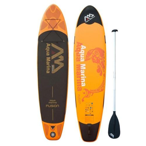 Надувной сап борд для sup серфинга Aqua Marina Fusion