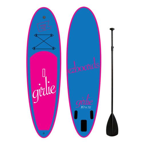 Надувная доска для САП серфинга SUP EZ Girlie