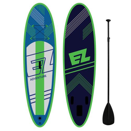 Надувная доска для серфинга SUP с веслом EZ ADVENTURE 2016