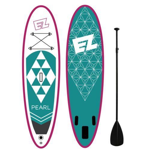 Надувная доска для САП серфинга SUP EZ PEARL